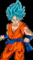 Goku Fukkatsu no F Poised SSJGod SS by DragonBallAffinity