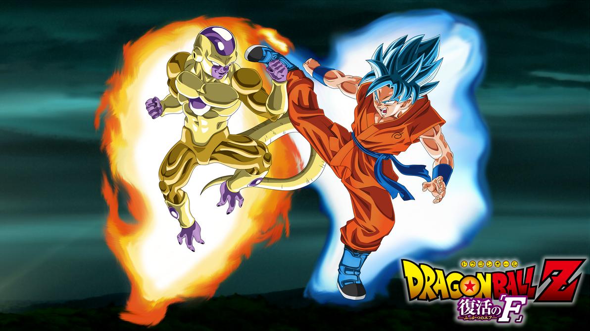 Gold Frieza Vs SSGSS Goku Aura 1920x1080 Wallpaper By DragonBallAffinity