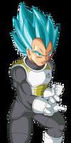 Fukkatsu no F SSJGSS Vegeta Palette 2 by DragonBallAffinity