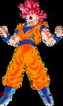 Goku Super Saiyan God Power Up! Palette 1 by DragonBallAffinity