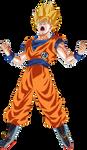 Goku Super Saiyan Power Up!