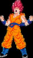 Goku SSGSS Fukkatsu no F Power Up! Palette 2 by DragonBallAffinity