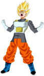 Vegito Fukkatsu no F SSJ Power Up!