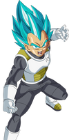 Vegeta SSGSS Dragon Ball Super Fukkatsu no F Alt