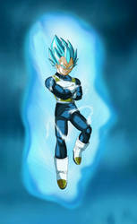 SSGSS Vegeta Arms Crossed Aura V2 BG