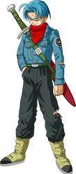 Mirai (Future) Trunks Dragon Ball Super by DragonBallAffinity