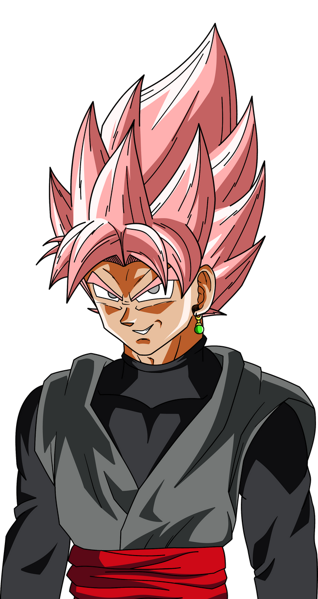 goku black ssj rose profile shot palette 1 by
