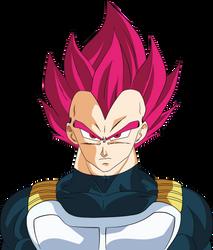 Vegeta SSJ God Dragon Ball Super Broly