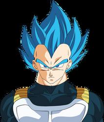 Vegeta SSJ Blue Dragon Ball Super Broly