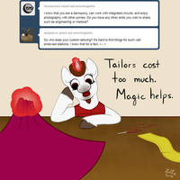 Pony QnA #36: Who does your tailoring? by WebsterLeone