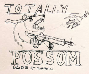 Totally Possom by WebsterLeone