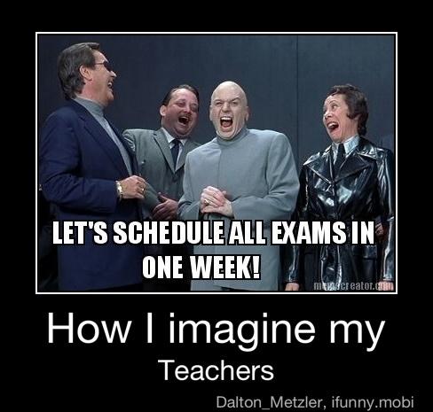 Exactly How I Imagine My Teachers Too by CJthehedgehog122