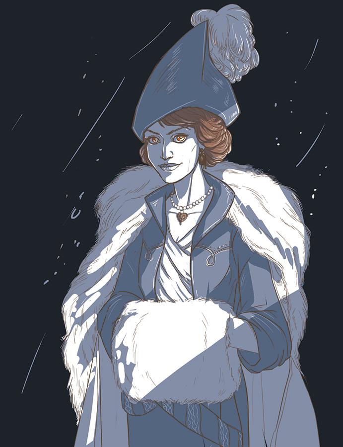 Lavinia Wintergate by Anastasven