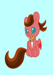 Crimson with a Cookie ^///^ by xboxlivegb11