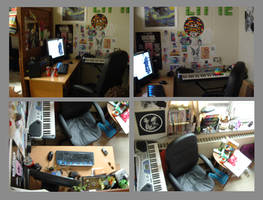 My Desk by Tillette
