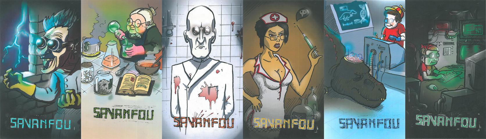 Famille SAVANFOU by B-VI