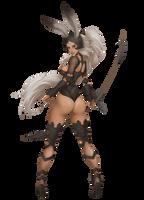 Fran - BadASS Bunny by MRGunn-Art