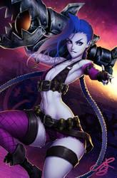 Jinx - League of Legends by MRGunn-Art
