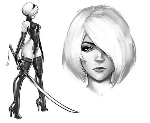 2b sketches