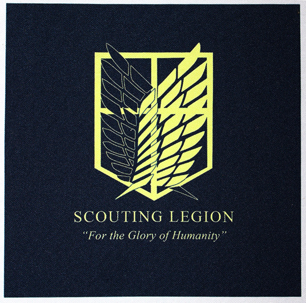 Scouting Legion on Canvas fabric