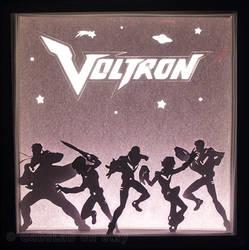 Defenders - Voltron Light Box by HimeGabi