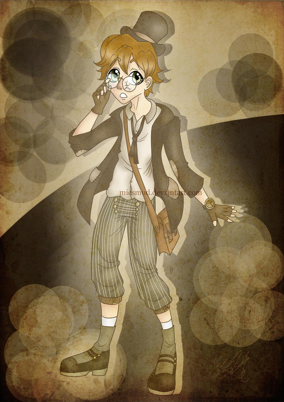 steampunk, victorian boy by miesmud on DeviantArt