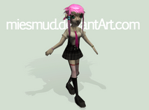 3D Iuki by miesmud