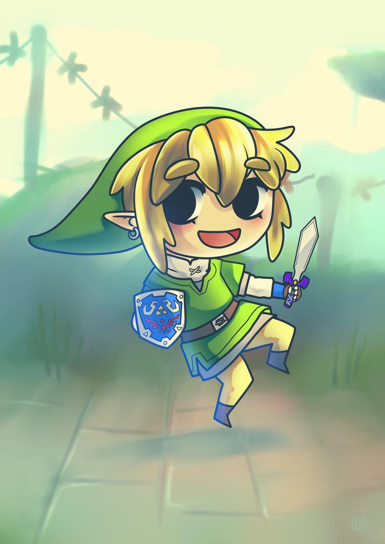 Chibi Link by miesmud