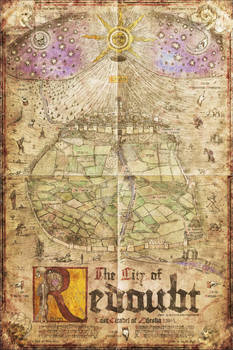 The Lost Citadel - Redoubt Regional Map