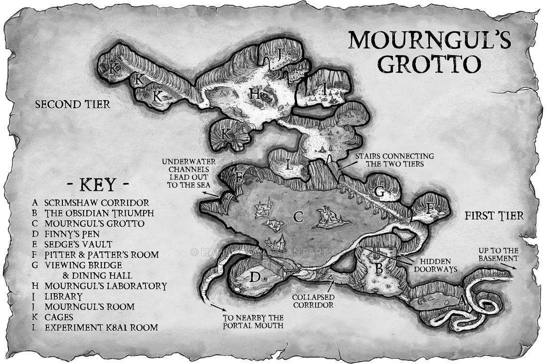 Mourngul's Grotto by Hapimeses