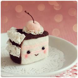 My Birthday cake :) by Katy-Doll
