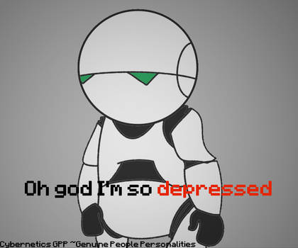 Marvin the Depressed Android