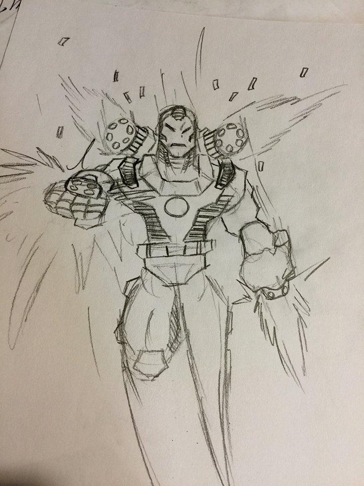 War Machine sketch by Jay-Jay3
