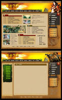 2005 Game Web Design by pitiaoxiao