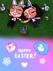 Grump Puffs - Easter by Irken-Pony1117