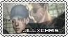 Jill x Chris Stamp by SweetHeartDark