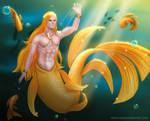Goldfish Prince #MerMay