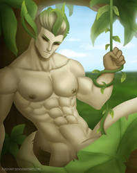 Leafeon by FirdyArt