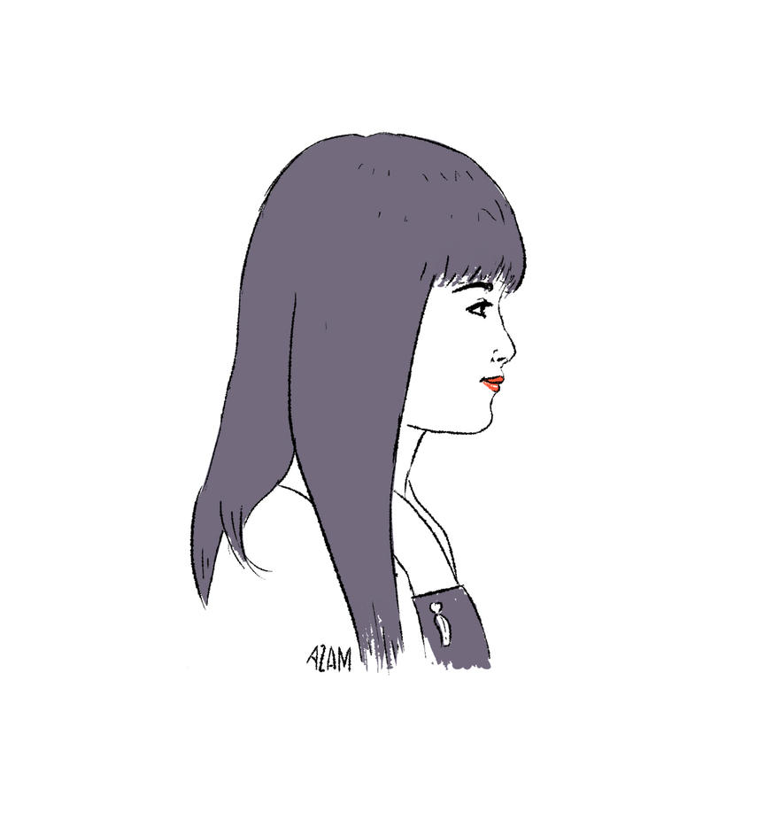 Megumi by AzamRaharjo