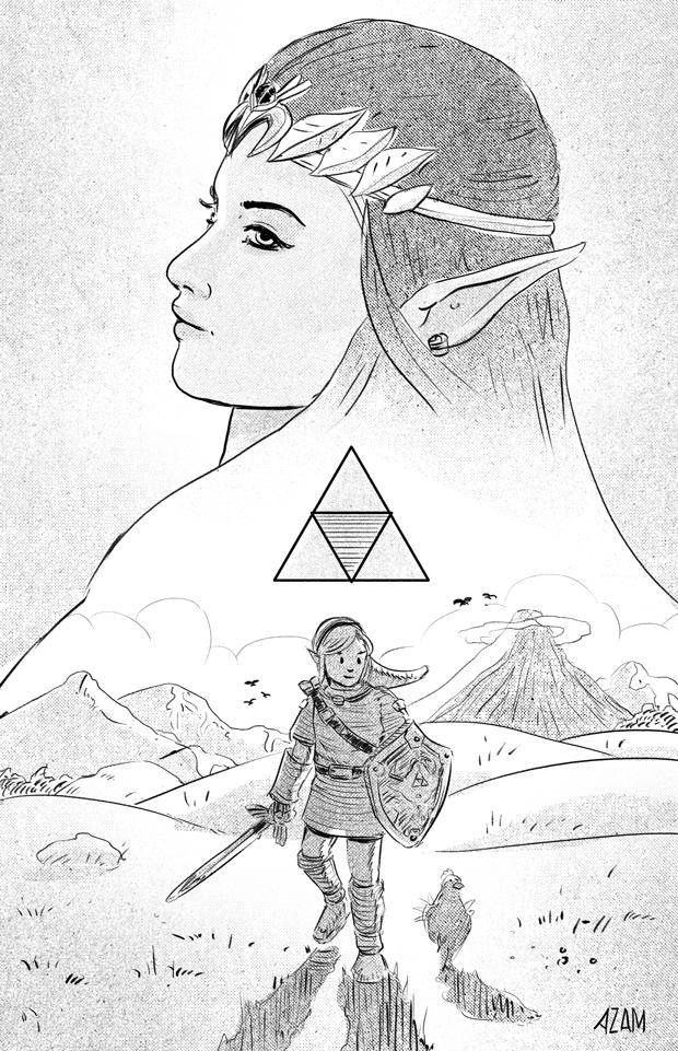 Triforce by AzamRaharjo