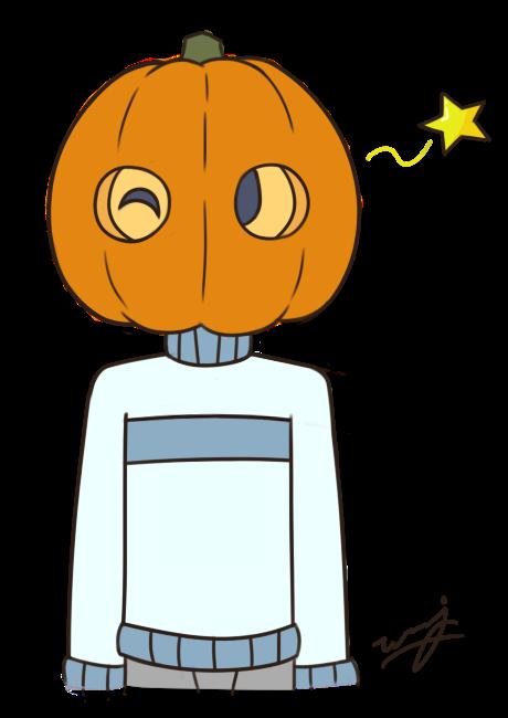 Ice Pumpkin Costume by weuxj