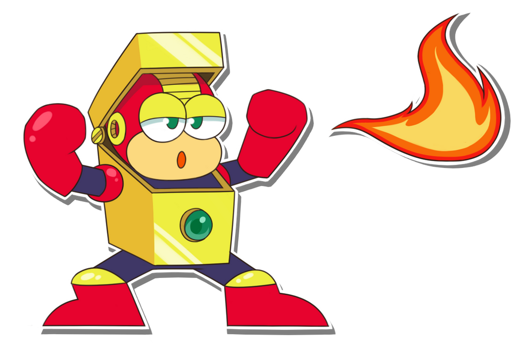 Heat Man Sticker by weuxj