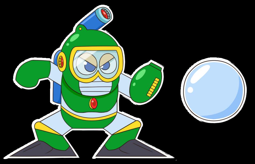 Bubble Man Sticker by weuxj