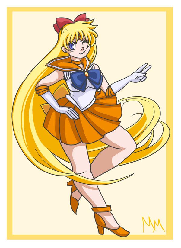 Sailor Venus by malicemuffin