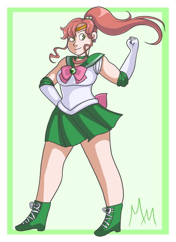 Sailor Jupiter by malicemuffin