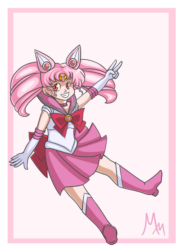 Sailor Chibi Moon by malicemuffin