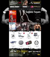 e commerce FitnessMalzemeleri by yarabandi