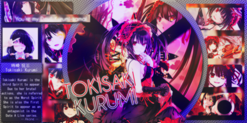 [ DEVIANTART ID ]  -- 6617 -- Iggy Tokisaki Kurumi by Sahara-Shinnesi