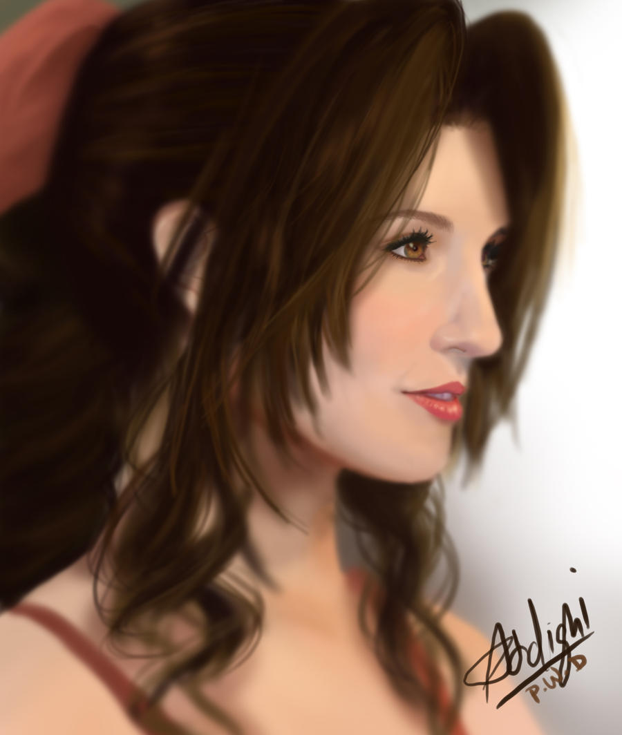 Aerith Gainsborough by Addigni