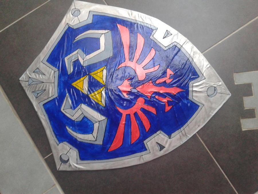 link's shield by zlizroswell